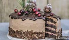 Zamilujete sa do nej: Voňavá čokoládová torta so škoricou a s brusnicami   DobreJedlo.sk