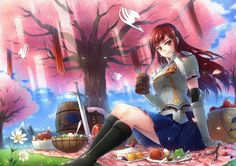 This is amazing fan art! One Piece Fairy Tail, Fairy Tail Girls, Fairy Tail Meme, Fairy Tail Nalu, Girls Characters, Manga Characters, Titania Erza, Fairy Tail Erza Scarlet, Jellal And Erza