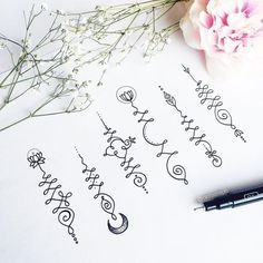 Image result for unalome symbols and meanings