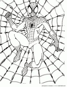Super Hero Coloring Pages - Free