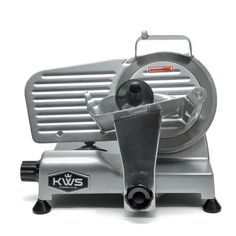 """KWS Premium 200w Electric Meat Slicer 6"""" Stainless Steel Blade, Frozen Meat/ Cheese/ Food Slicer Low Noises"""