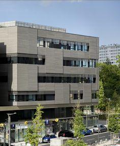 Block 32, edificio de viviendas en Lyon - ARQA
