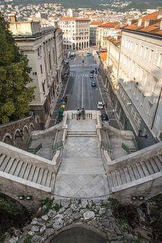 Trieste - Scala dei Giganti, San Vito, Trieste, Friuli-Venezia Giulia