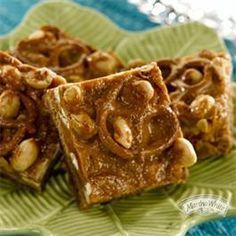 sweet and salty chocolate chip caramel bars martha white - Google Search