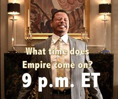 What Time Does Empire Come On?  Wednesday = Empire and everyone is asking:What…