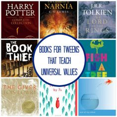 Discussing Virtues with Tweens Through Books - Planet Smarty Pants Discussing Virtues with Tweens Through Books - Planet Smarty Pants Middle School Books, Middle School Classroom, Books For Tweens, Books For Moms, Book Club Books, Book Lists, Children's Books, Grade Books, Book Clubs