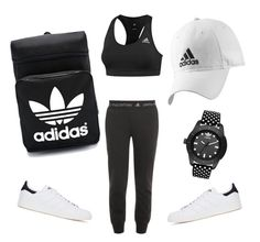 """Adidas"" by adadaa12 ❤ liked on Polyvore featuring adidas and adidas Originals"