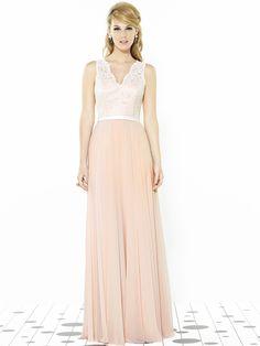 gorgeous #lace gown #blush