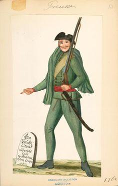 prussian croat 1761Index