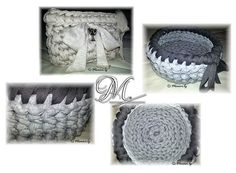 Trapillo. Sweet Home, Crochet Hats, Diy Crafts, Sewing, Knitting, Creative, Teaching, Hessian Fabric, Trapillo