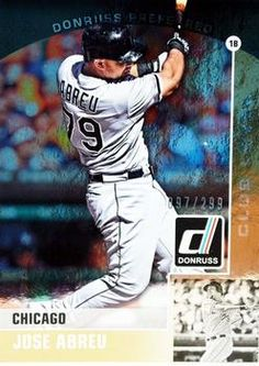 2015 Donruss - Donruss Preferred Gold #21 Jose Abreu Front