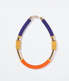 In love with this neckclace!!!! Zara Tube Necklace £19.99