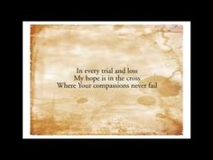 Out Of The Depths - Sovereign Grace...love, love, love this song!