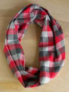 Oleander and Palm: DIY Plaid Cowl Neck Scarf