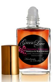 Vanilla & Blackberry by Green Love (all Green Love fragrances are vegan and organic)