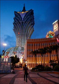 Grand Lisboa, Macau  building design