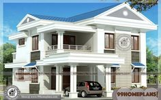 2 storey house design box type with house front elevation designs kerala for new kerala home designs 2019 - Best Home Interior Design Indian Home Design, Best Home Interior Design, Kerala House Design, Home Design Plans, Plan Design, 2 Storey House Design, House Front Design, Modern House Design, Villa Design