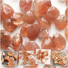 Sunstone - Loose Sunstone Lot, Cabochons in round, oval, fancy free form shapes. Rectangle, square. Beautiful beauties in good color, cut and shine for your designs. Shop Now- only on Gemsforjewels - Flat 50% off STOREWIDE!!