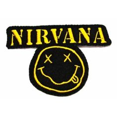 Nirvana rock music band Patch Logo III Embroidered Iron on Patches Patch By KLB http://www.amazon.com/dp/B00FIT0620/ref=cm_sw_r_pi_dp_mZLvwb0WR4P0Y