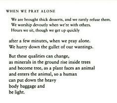 The Essential Rumi - when we pray alone