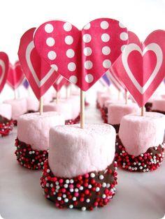 Easy Marshmallow Valentine Treats