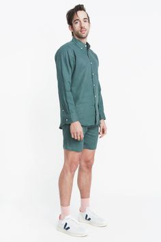 Men's Play Suit / Pine