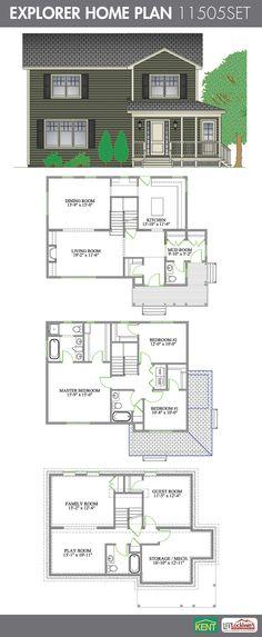 Petitcodiac 5 Bedroom 3 1 2 Bathroom Home Plan Features Large