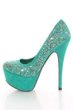 b6c885f5fe00 31 Stilettos, Pumps Heels, Stiletto Heels, Flats, Platform High Heels, Teal