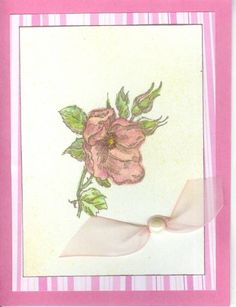 Girly Girly Pink by Stampin-ProBum - Cards and Paper Crafts at Splitcoaststampers