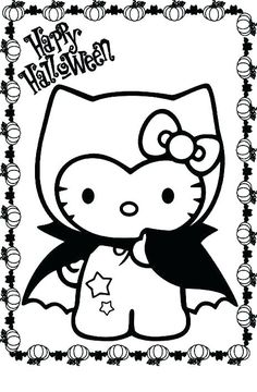 32 Best Coloring Sheet Hello Kitty Images In 2019