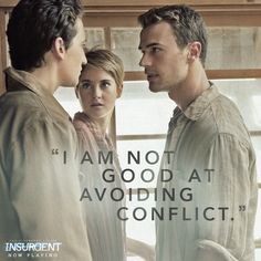 Where there is Peter, there is drama. Have you had a taste of #Insurgent yet? See it NOW: http://insur.gent/tix
