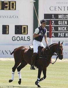 Will playing polo