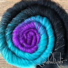Smoothie Pixie Stick gradient merino spinning batt