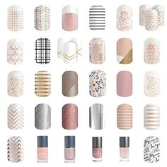 Need to stay subtle on your mani? Jamberry has you covered!
