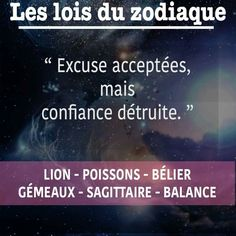 Excuses non acceptée Zodiac Signs Horoscope, My Zodiac Sign, Astrology Zodiac, Astrology Signs, Gemini, Horoscopes, Signe Astro Lion, Useful Life Hacks, Constellations