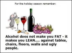 Good to know about Alcohol