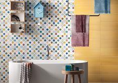 PLAY by Imola Ceramica (dettagli home decor) Ceramic Floor Tiles, Concrete Tiles, Wall Tiles, Tile Floor, Arch House, Italian Tiles, Palette, Tile Stores, Encaustic Tile