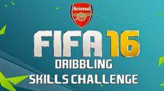 Fifa 16 Dribbling Skills Challenge - Arsenal