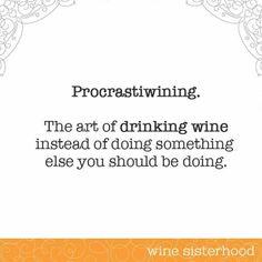 Procrastiwining!