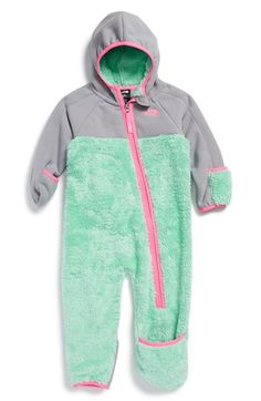 The North Face 'Chimborazo' One-Piece (Baby Girls) available at #Nordstrom