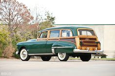 1950 Oldsmobile Wagon.
