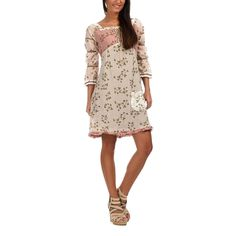Glory Dress | Beige-Pink by Ian Mosh on Brands Exclusive