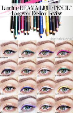 Lancôme DRAMA LIQUI-PENCIL™ Longwear Eyeliner Review - http://citizensofbeauty.com/beauty-reviews/lancome-drama-liqui-pencil-longwear-eyeliner-review/