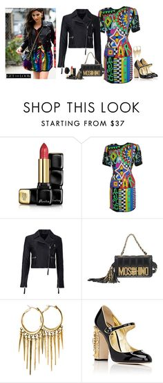 """""""NYFW day 1"""" by blueeyed-dreamer ❤ liked on Polyvore featuring Guerlain, Marissa Webb, Moschino, Rachel Zoe, Dolce&Gabbana, Dsquared2, StreetStyle and NYFW"""
