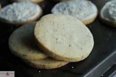 Almond Poppy Seed Cookies with Almond Frosting | Heather Christo Cooks
