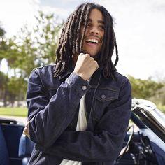 Bob Marley's grandson: Skip Marley.