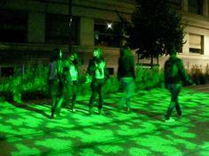Projection lumineuse avenue de la Libération. Noémie BSG. Concert, Design, Light Fixture, Concerts