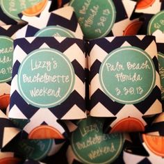 Bachelorette Weekend Koozies.. or tanks.. or pocket tees?? or none of the above and something else haha