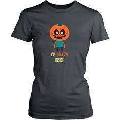 Pumpkin I'm Hollow Inside Halloween T-shirt
