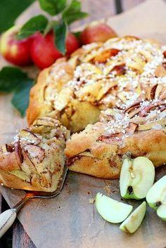 Extra fin äppelkaka med kanel, vanilj & kardemumma